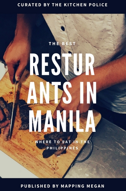 The following are not only the best restaurants in Manila for your taste buds, but also your meticulously curated Instagram feeds.