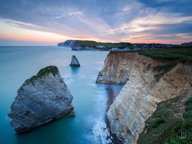 Freshwater Bay on the Isle of Wight.