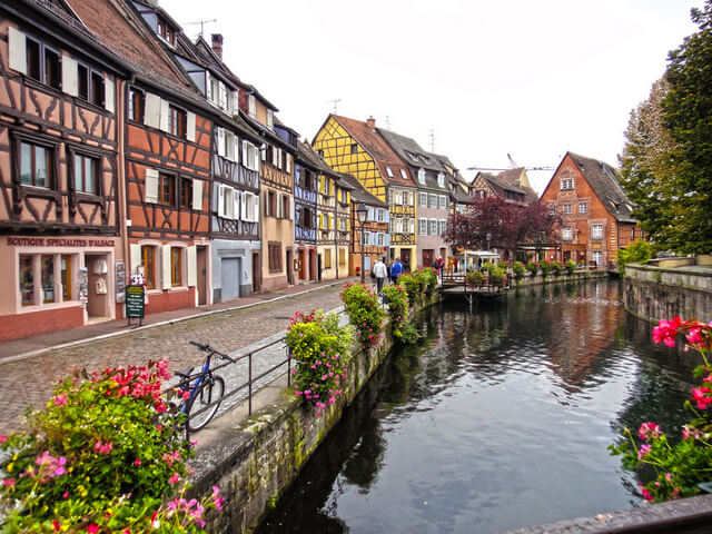 Colmar is often quoted as the prettiest town in France