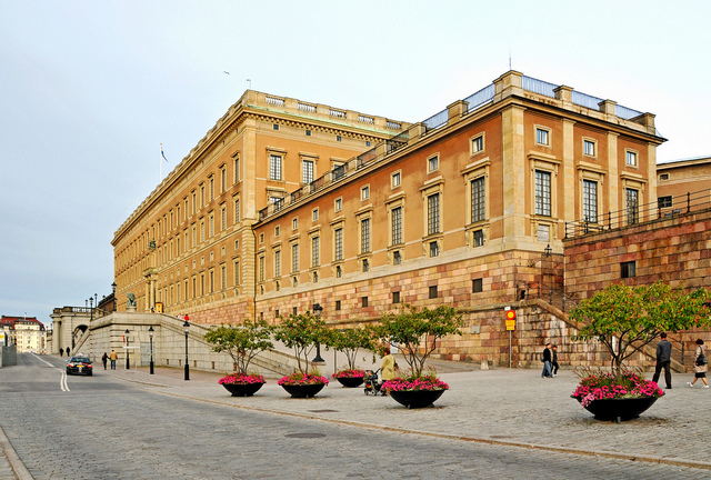 The Royal Palace of Stockholm