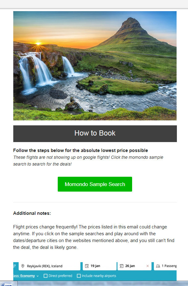 Travel subscription services are a great way to find out about cheap flights.