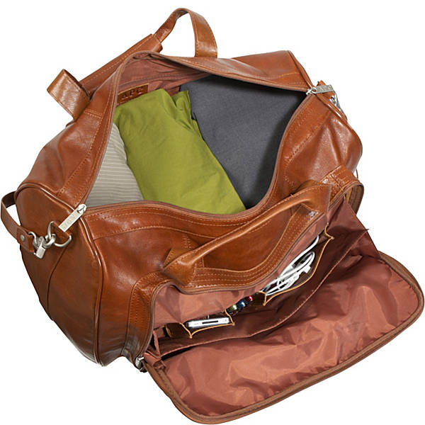 Leather 3 pc. Set Traveler