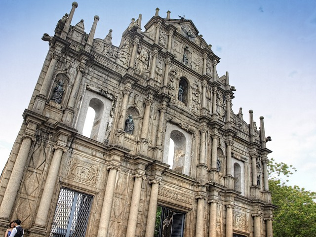 St Paul's Cathedral Macau