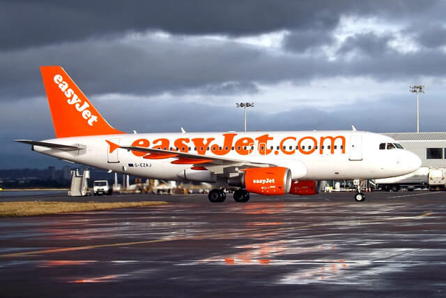 Easyjet plane airline flight