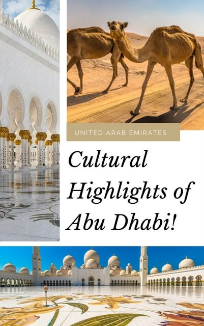 Cultural highlights of Abu Dhabi