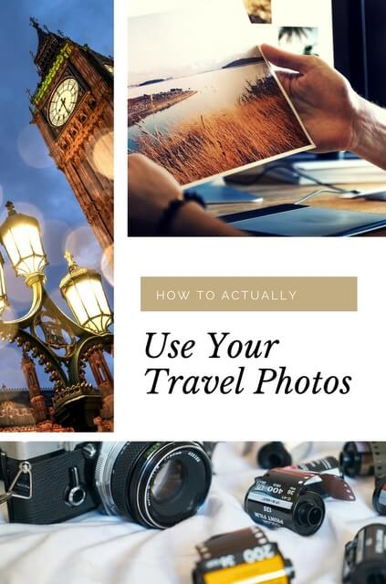 Fabulous ways to actually use your travel photos