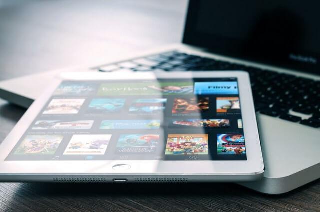 Netflix computer iPad RF