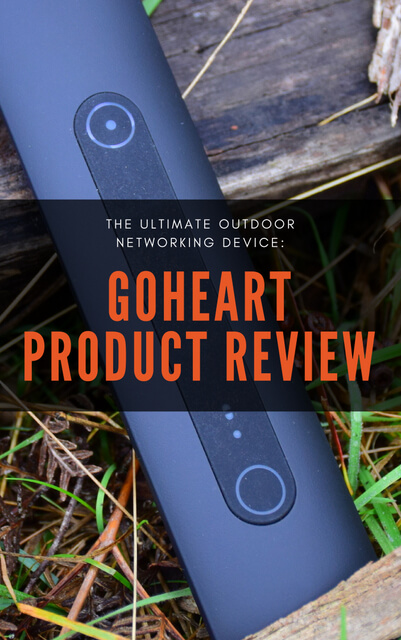 GoHeart is the ultimate device for outdoor networking, allowing you to contact friends and access emergency help without the internet or a phone signal.