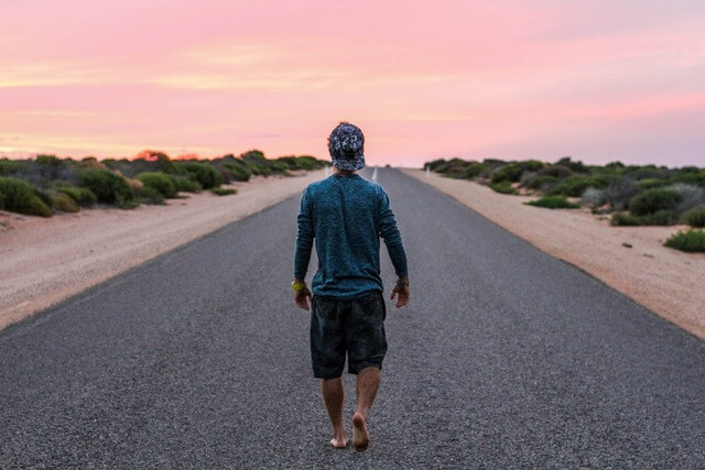 Barefoot sunrise RF