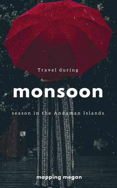 This is the Andaman Islands as you've likely never thought to see it: during the magical season that is the monsoon.