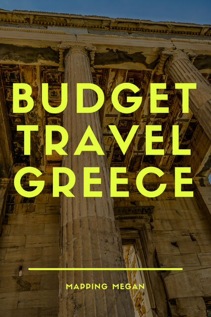 Budget tips for Greece travel, including Greece budget hotel, transport, and other fabulous tips traveling for cheap.