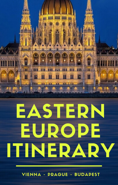 When it comes to Eastern Europe travel, destinations like Prague Czech Republic, Vienna Austria and Budapest Hungary make a great route. Click pin for beautiful things to do in Eastern Europe, and travel tips to help form your itinerary!