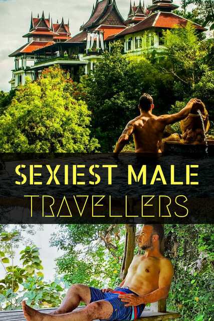 Ladies: what's more drool worthy than travel? These 25 sexy traveling men!