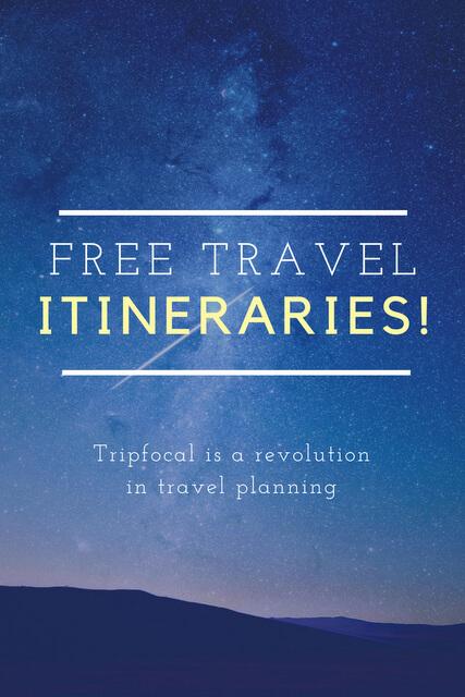 Free travel itineraries
