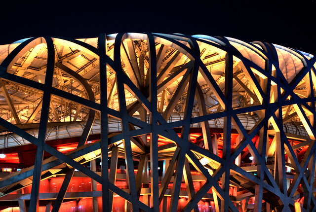 Taking an illuminated night tour is also a great way to appreciate Beijing's architecture as the city's many landmarks are beautifully lit once the sun sets.