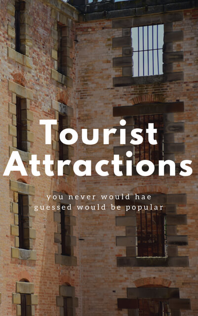 What if I told you people dream of spending their holiday in the sewer? Or pay to be locked up behind bars? The following are 5 places you never would have guessed would be popular tourist attractions.