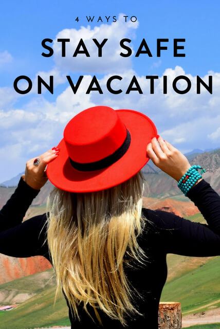 The following are four great ways for staying safer when you're away on holiday. It will mean you're much better positioned to enjoy your vacation.