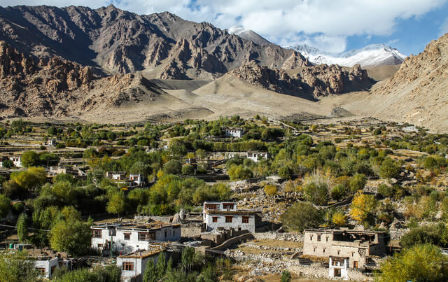 Ladakhi village
