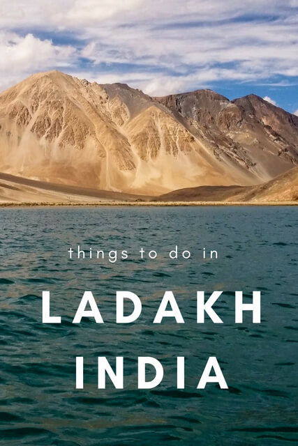 Traveling to India? Ladakh India is so beautiful, this post has a list of the best places to visit, things to do, including trekking, adventure, lakes and more!