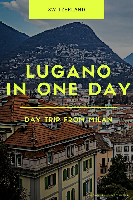 If you're thinking about visiting Switzerland as a day trip from Italy, Lugano is the best place. Click through for things to do and travel tips!