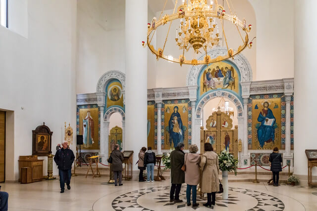 Russian Orthodox cathedral and Cultural Center in Paris