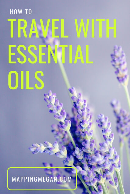 Just because you're on the move doesn't mean you can't benefit from aromatherapy. Here is how to travel with essential oils + my review of the Organic Aromas mobile mini (portable) nebulizing diffuser.
