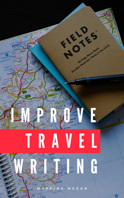 Check out this article for inspiration and travel writing tips - ideas, strategies and examples for how you can improve as a career travel writer.