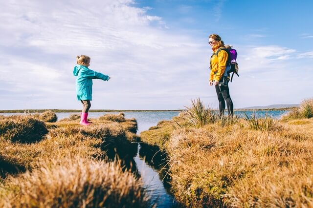 Family travel with kids RF