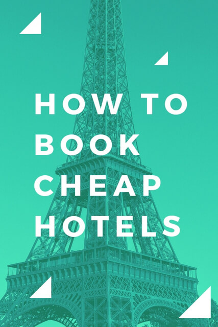 If you're wondering how to get hotel discounts this is our best travel tip: click through to read our hacks for getting cheap hotels every single time.