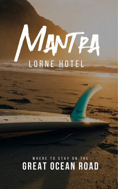 If you're looking for accommodation along the Great Ocean Road Australia, book Mantra Lorne! A great base for your road trip itinerary with suggestions on things to do (lots of close by beaches and waterfalls!)