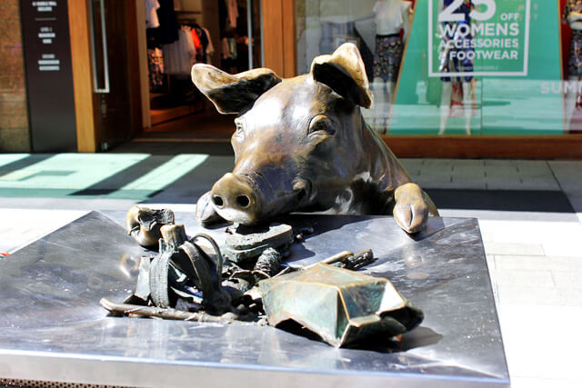 Rundle Mall Pig