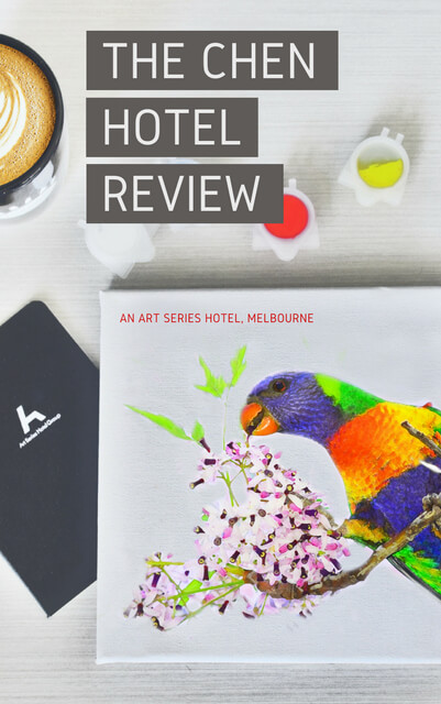 If you're looking for an artsy place to stay in Melbourne Australia, read this hotel review.