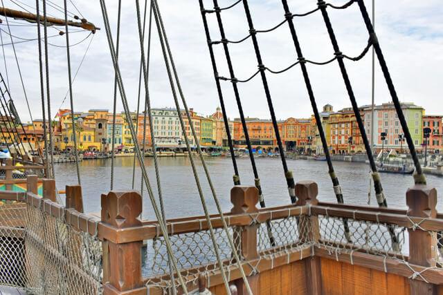 Mediteranean Harbor Tokyo DisneySea