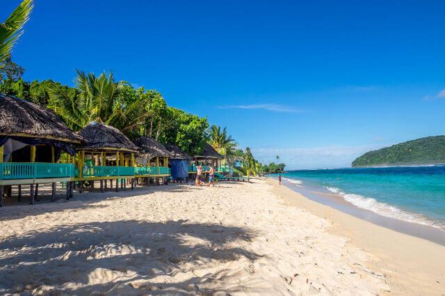 Lalomanu-beach-open-fale Samoa