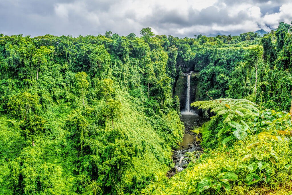 Sopo'aga-Waterfall Samoa