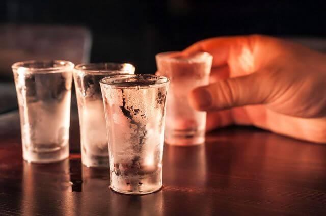 Vodka shot RF