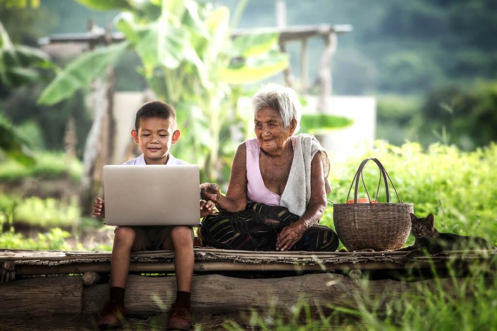 Asia laptop computer RF