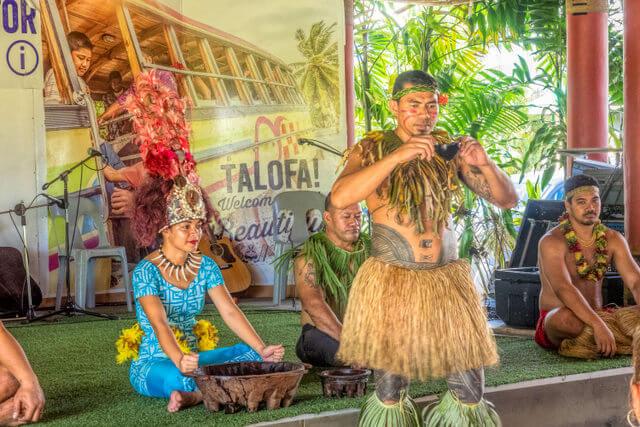 Ava-ceremony Samoa