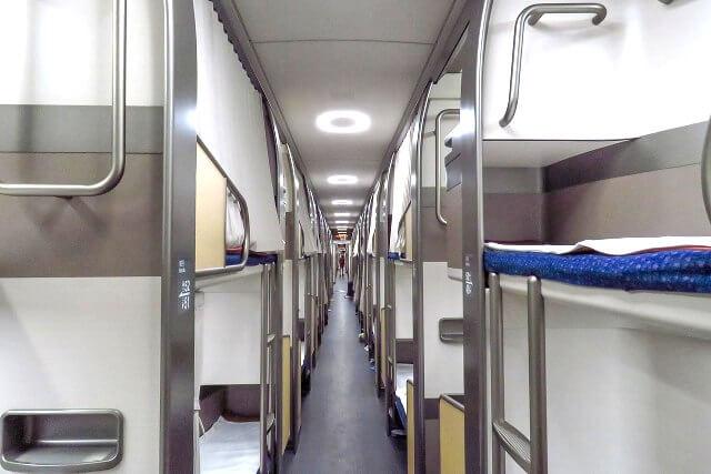 Beijing to Shanghai Sleeper Train