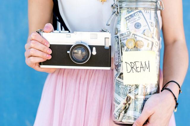 Camera money cash RF