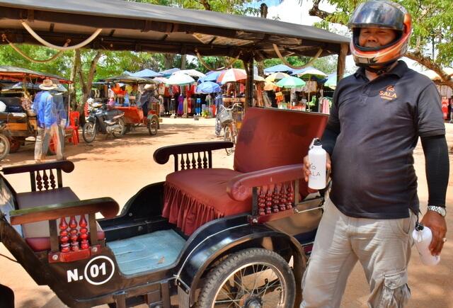 Chuon Hak tuk tuk driver Siem Reap