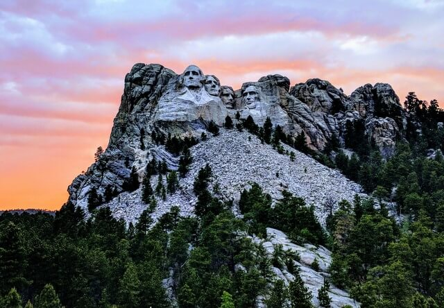 Mt Rushmore USA RF