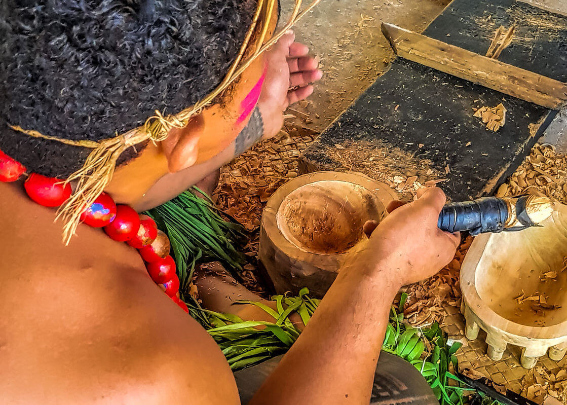 Samoa Carving Demonstration