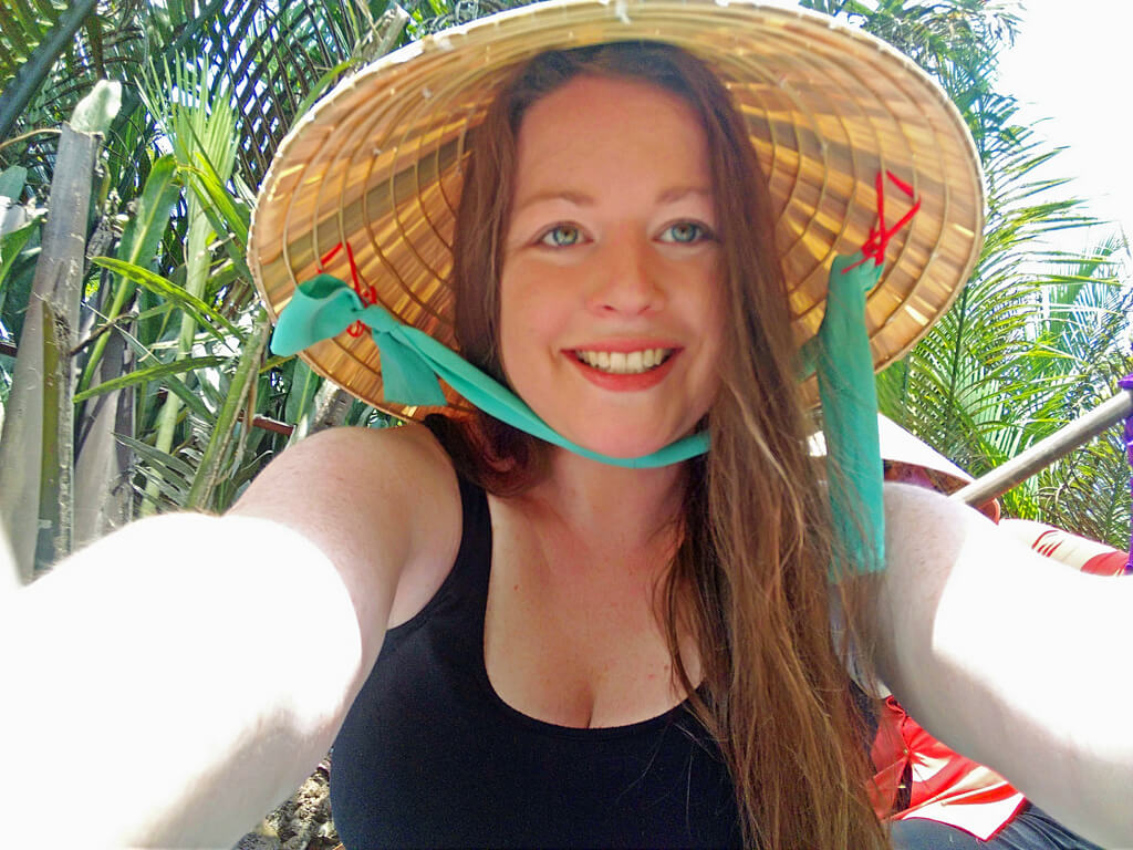 Vietnam female traveler Meg Jerrard