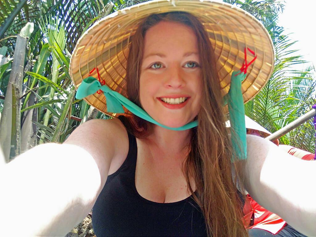 Vietnam female traveler Meg Jerrard