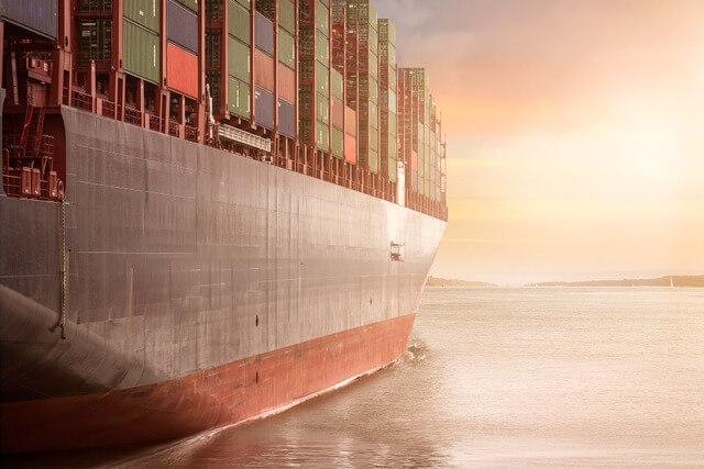 Cargo ship container RF