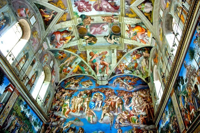 Places to visit in Rome Italy Sistine Chapel