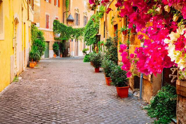 Places to visit in Rome Italy Trastevere