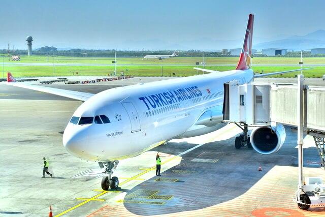 Turkish Airlines Plane Flight