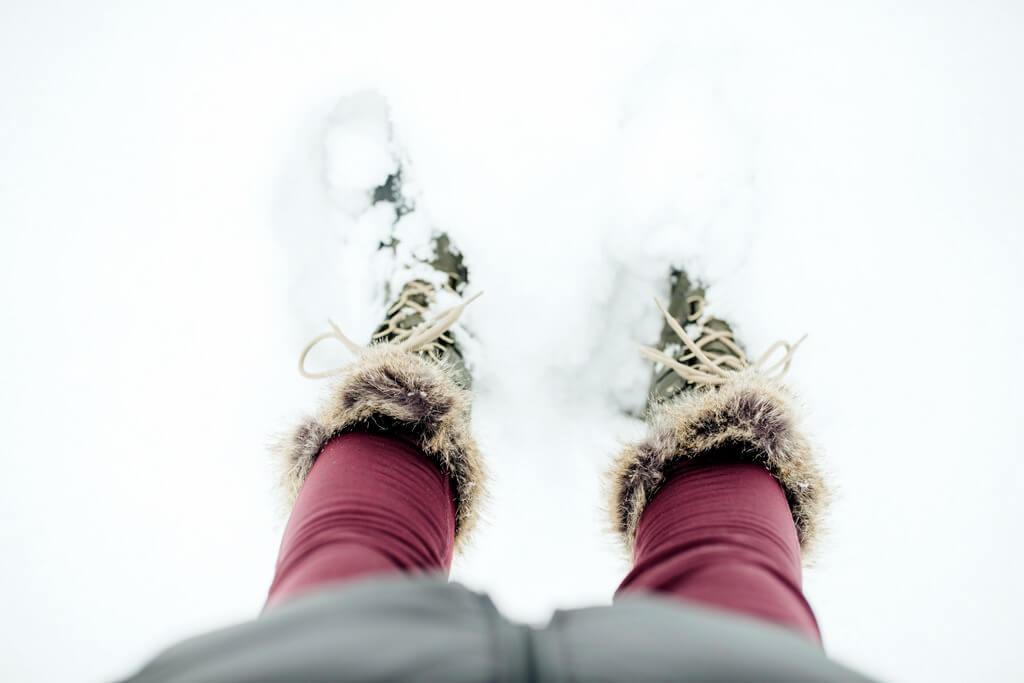 Snow boot shoe RF
